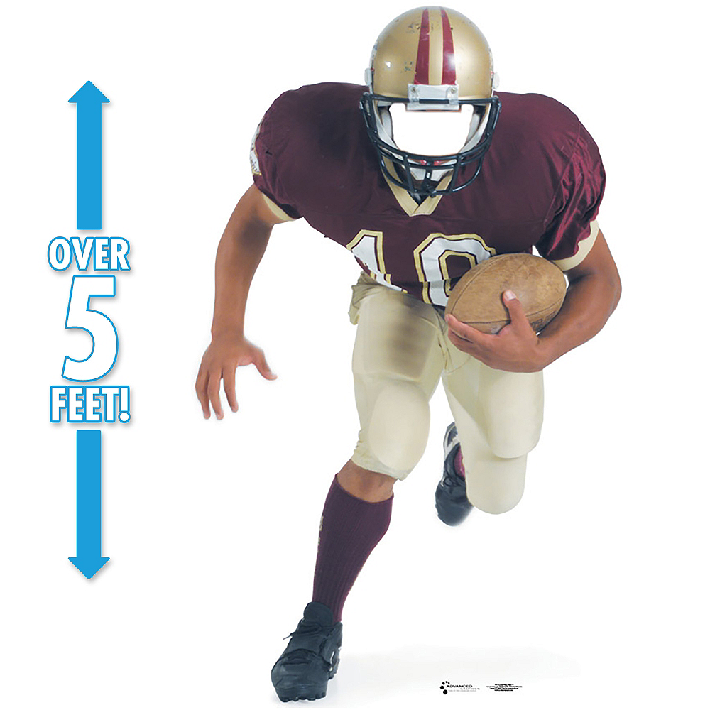 Football Player Life Size Photo Cardboard Cutout Image #1