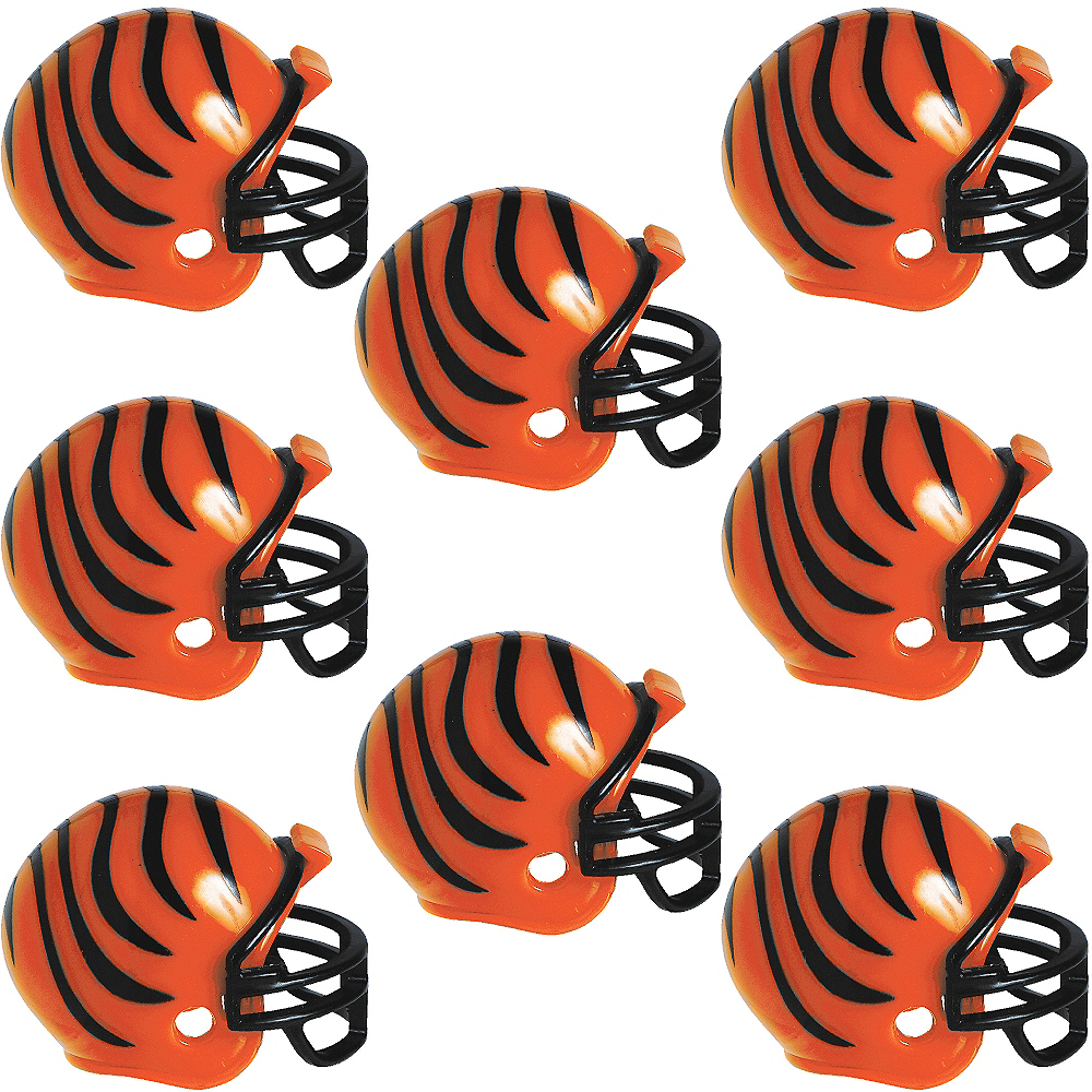 Nav Item for Cincinnati Bengals Helmets 8ct Image #1