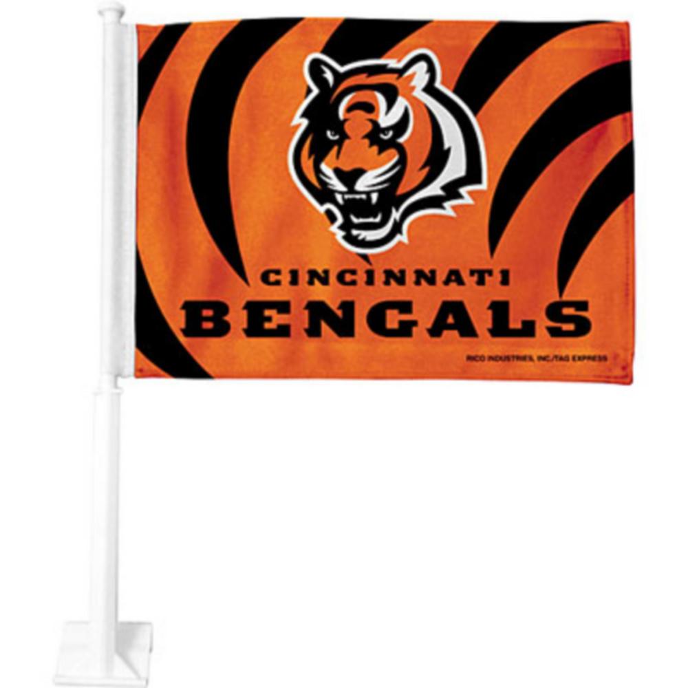 Cincinnati Bengals Car Flag Image #1