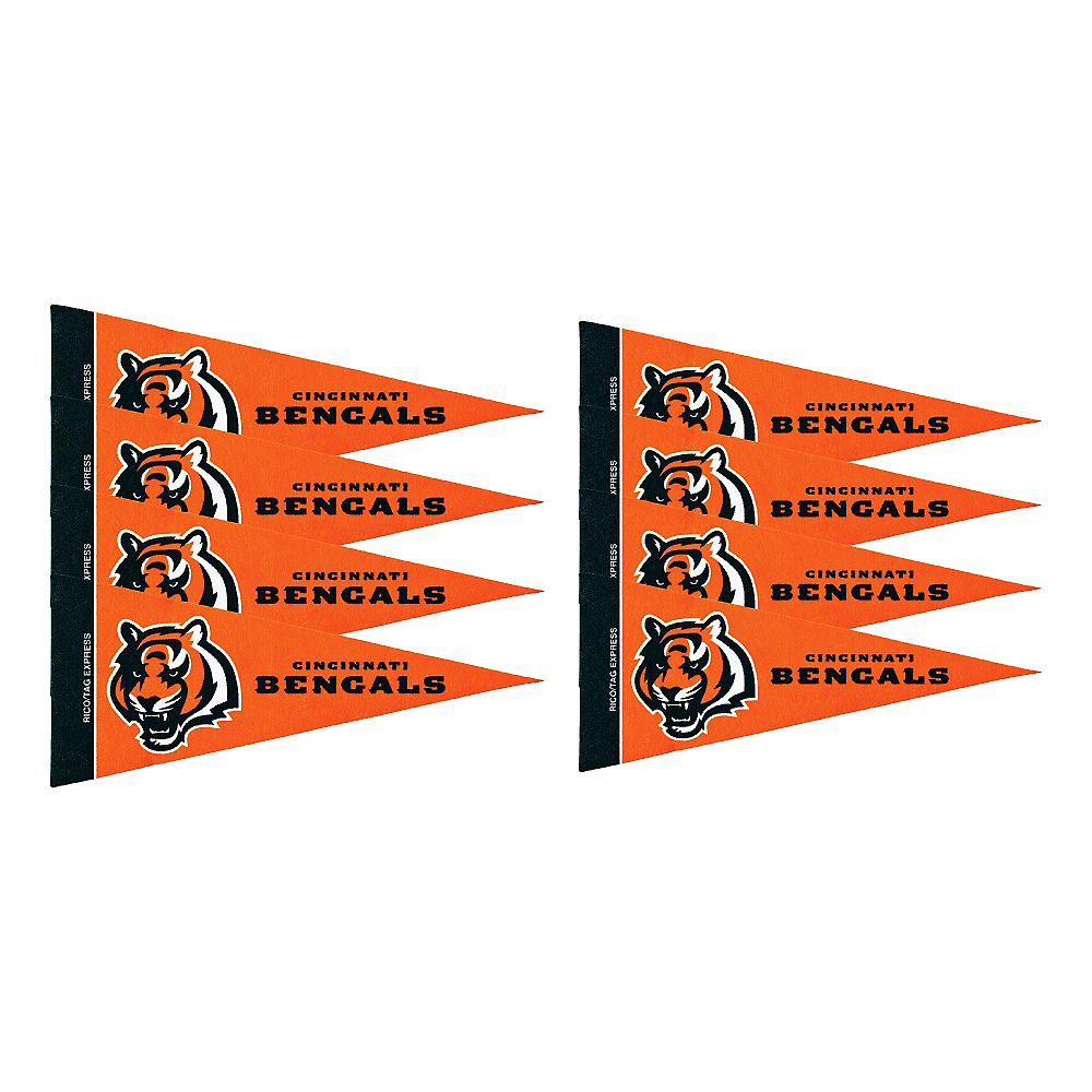 Nav Item for Cincinnati Bengals Pennants 8ct Image #1