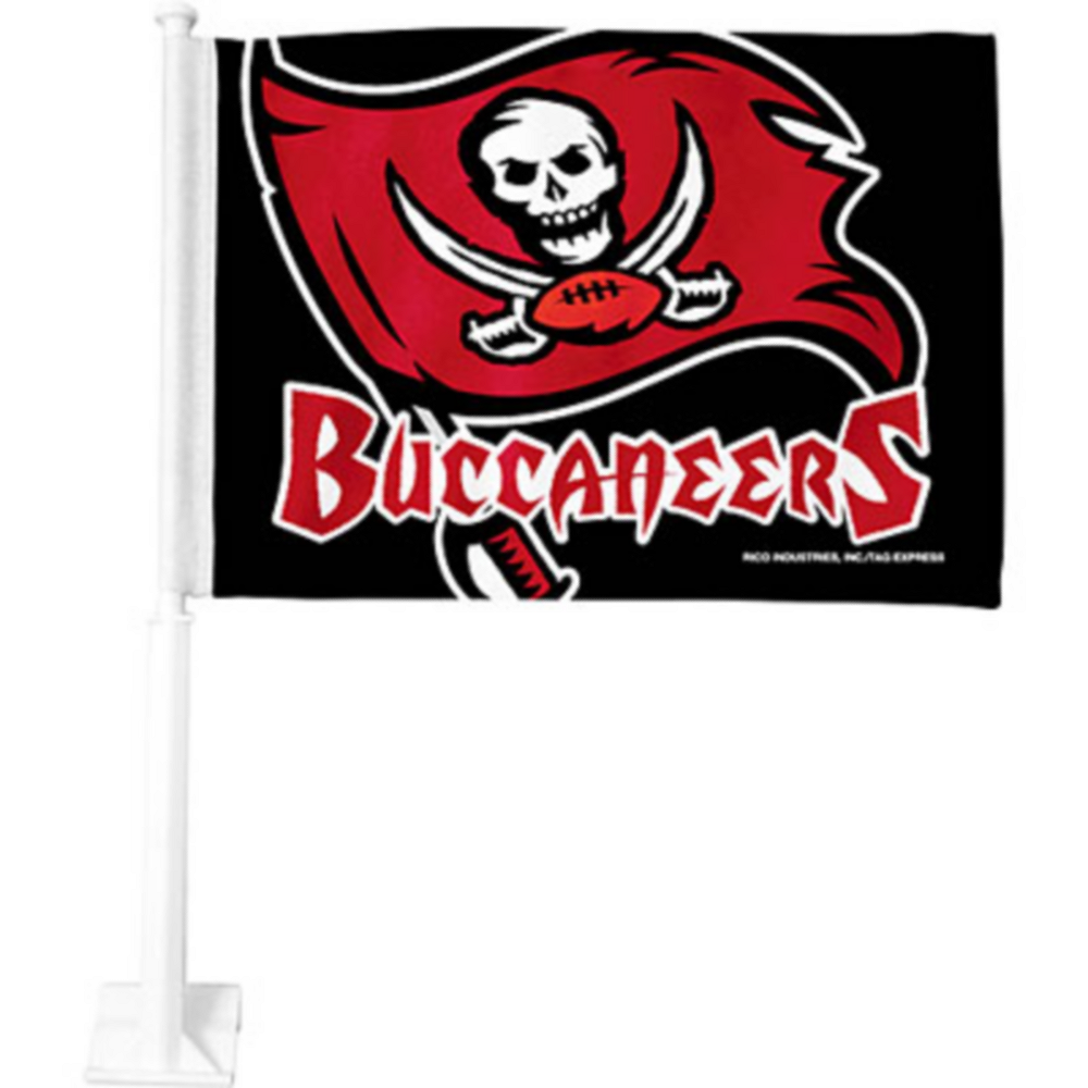 Tampa Bay Buccaneers Car Flag Image #1