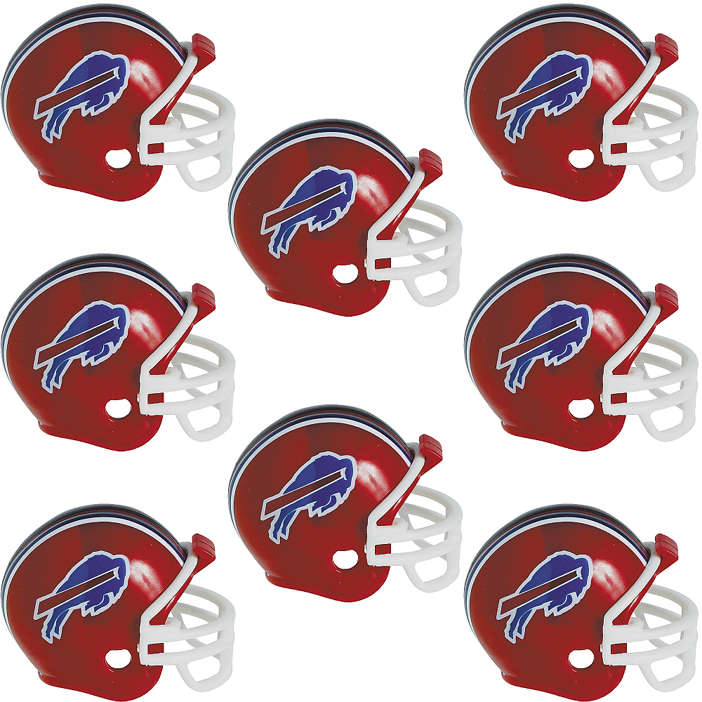 Buffalo Bills Helmets 8ct Image #1