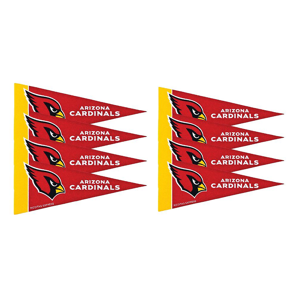 Arizona Cardinals Pennants 8ct Image #1