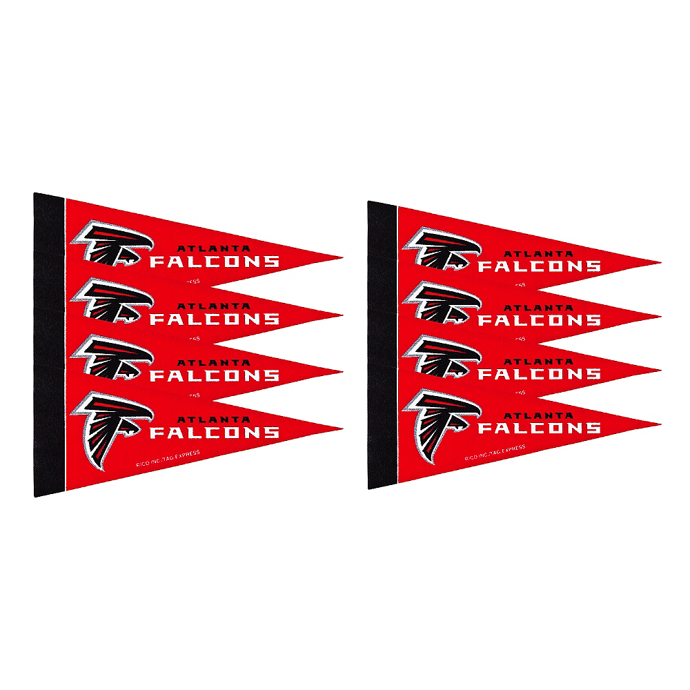 Atlanta Falcons Pennants 8ct Image #1
