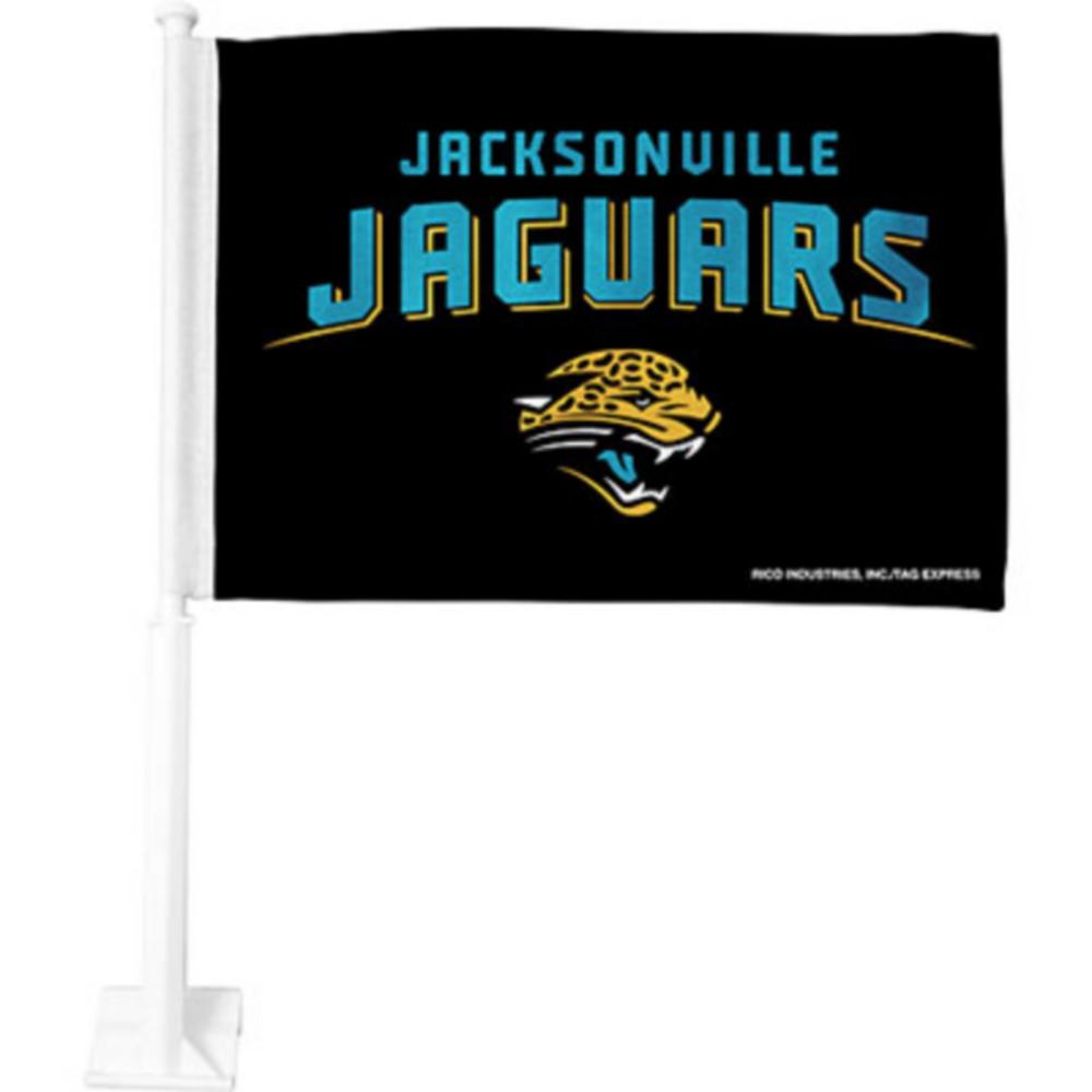 Jacksonville Jaguars Car Flag Image #1