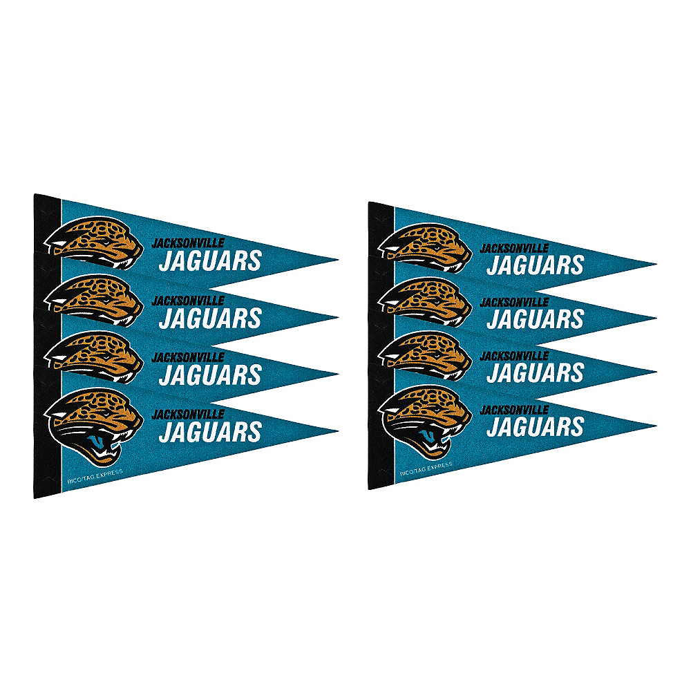 Nav Item for Jacksonville Jaguars Pennants 8ct Image #1