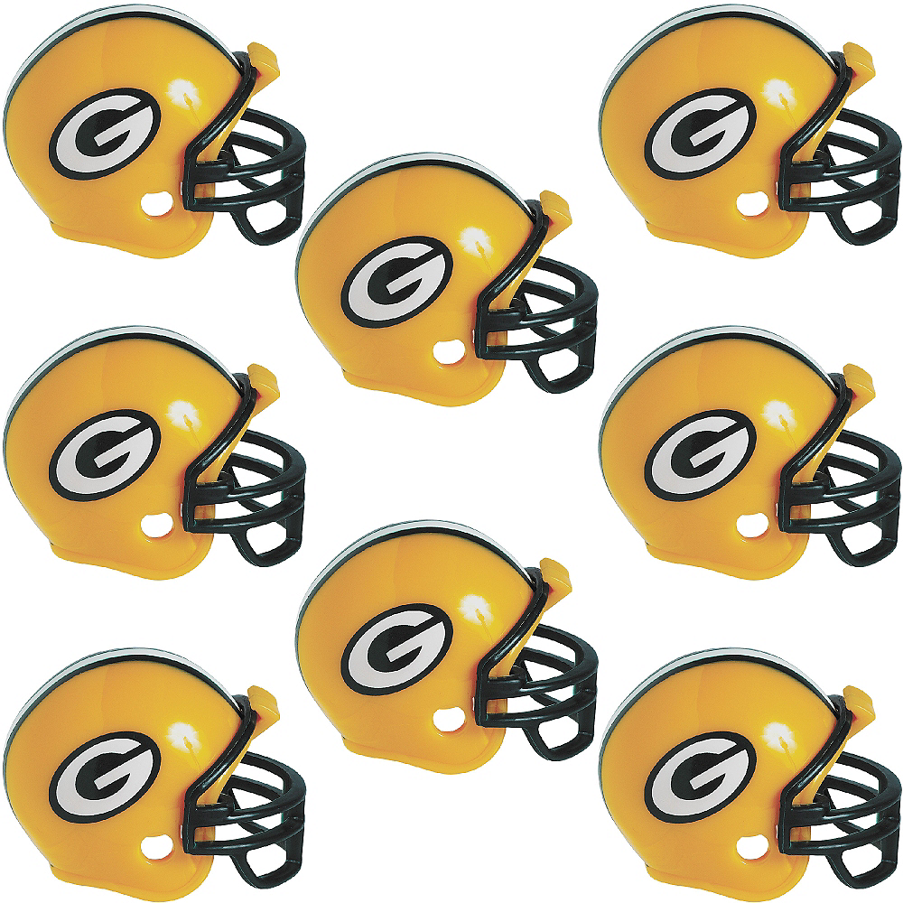 Green Bay Packers Helmets 8ct Image #1