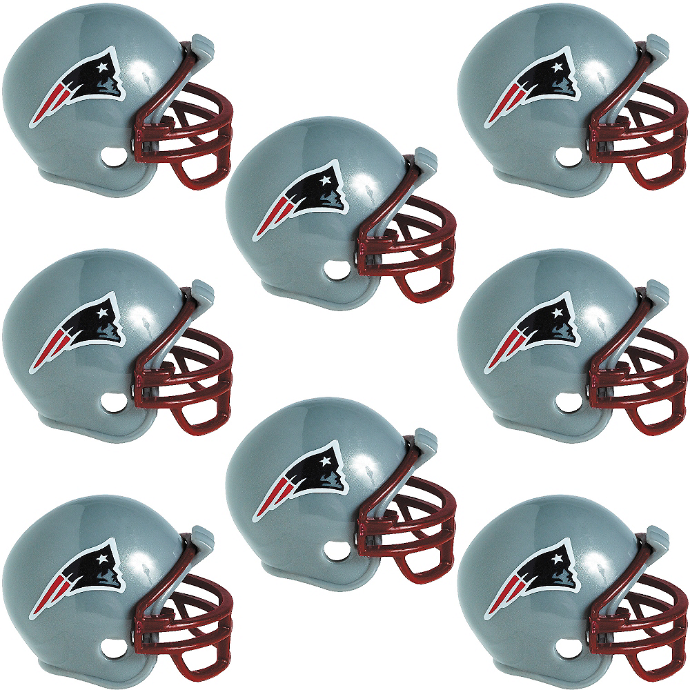 New England Patriots Helmets 8ct Image #1