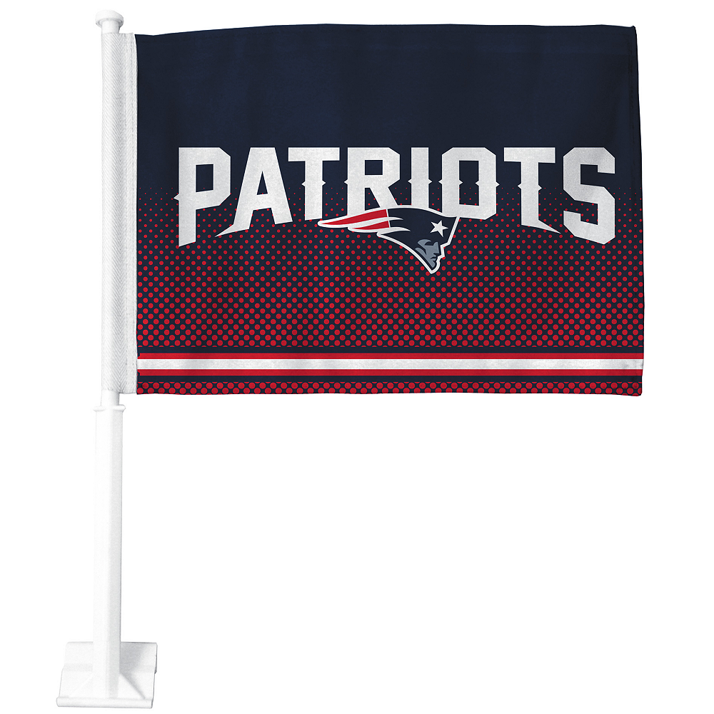 New England Patriots Car Flag Image #1