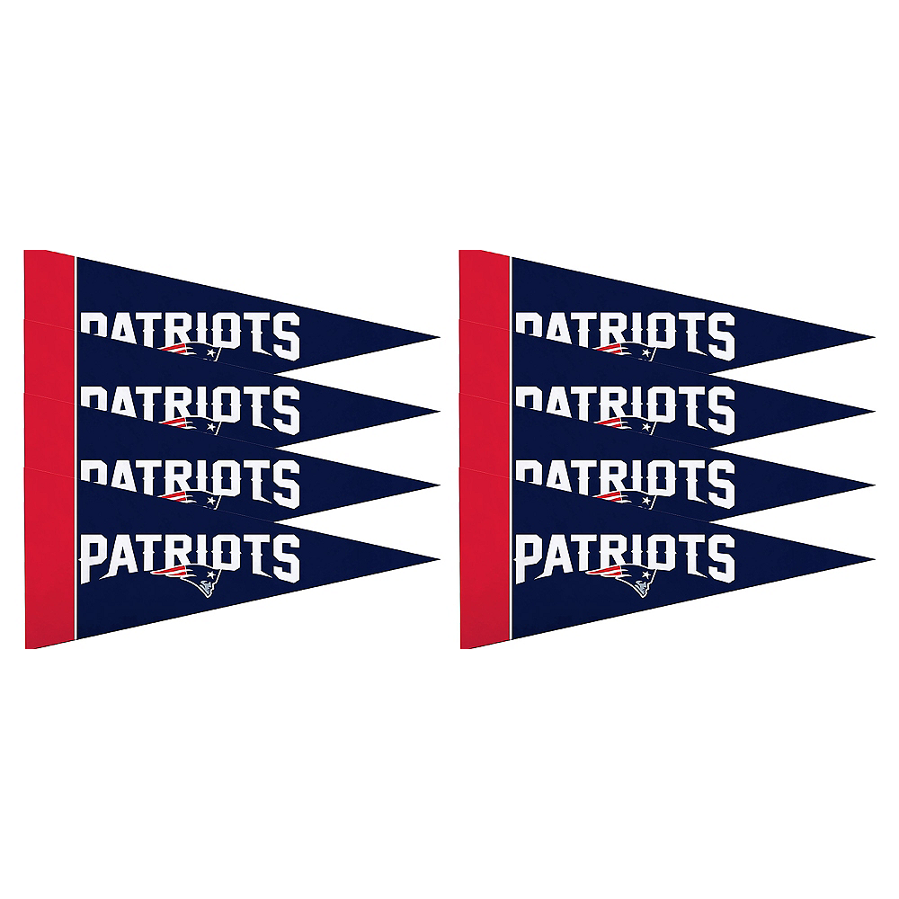 New England Patriots Pennants 8ct Image #1