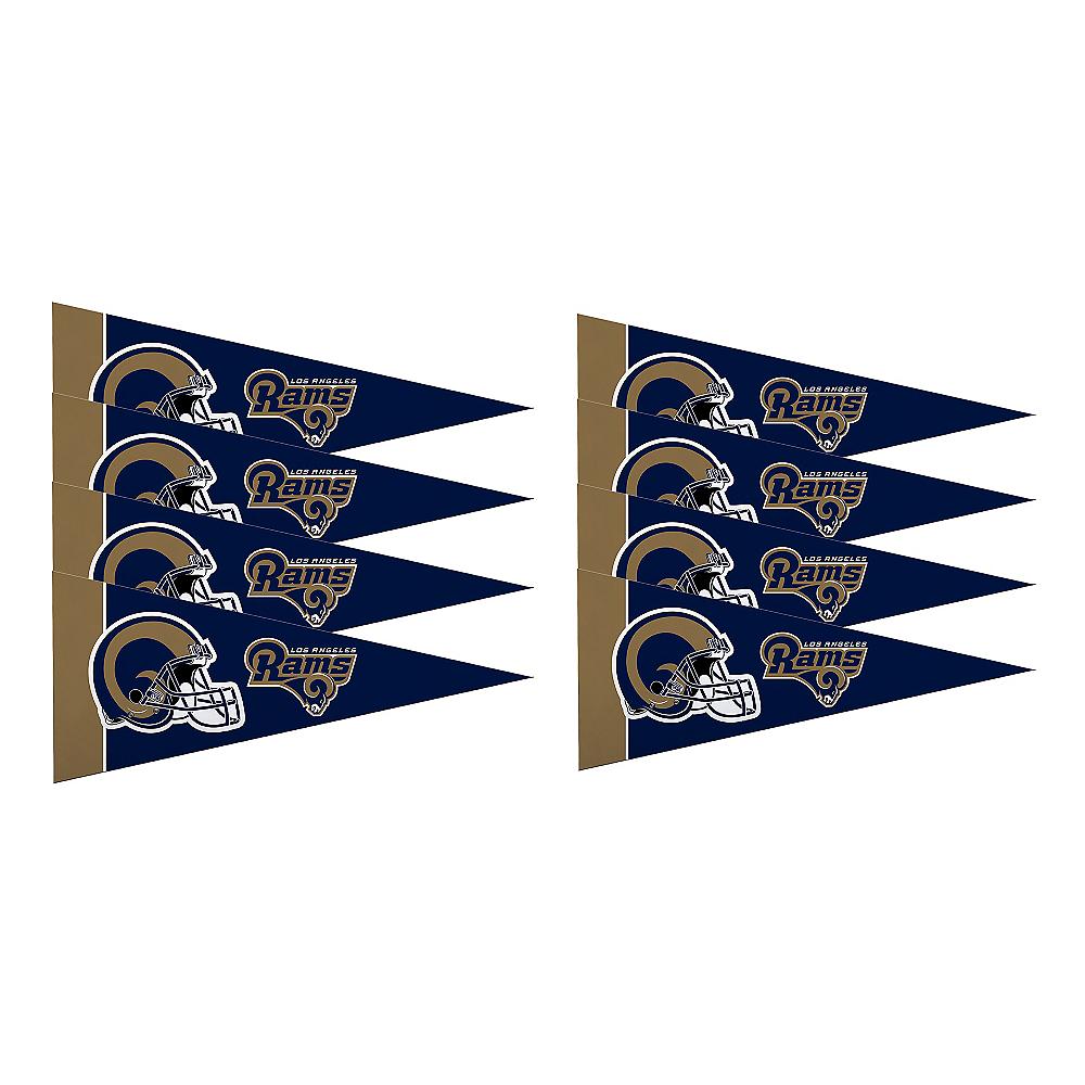 Los Angeles Rams Pennants 8ct Image #1