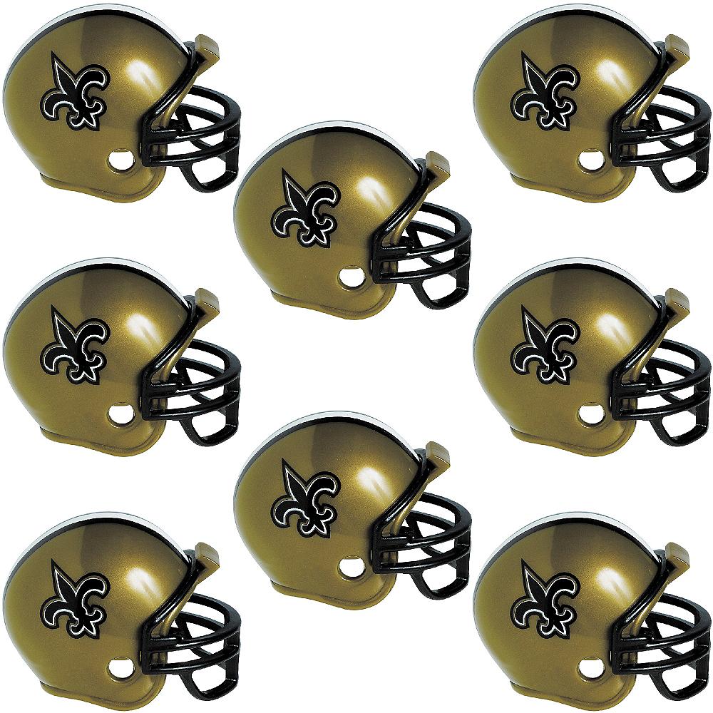 8c55d71b976 New Orleans Saints Helmets 8ct Image  1