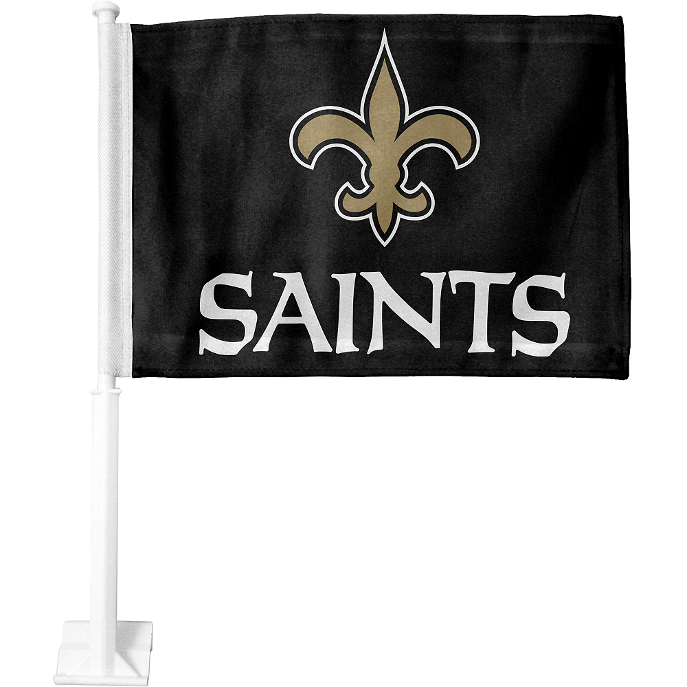 New Orleans Saints Car Flag Image #1
