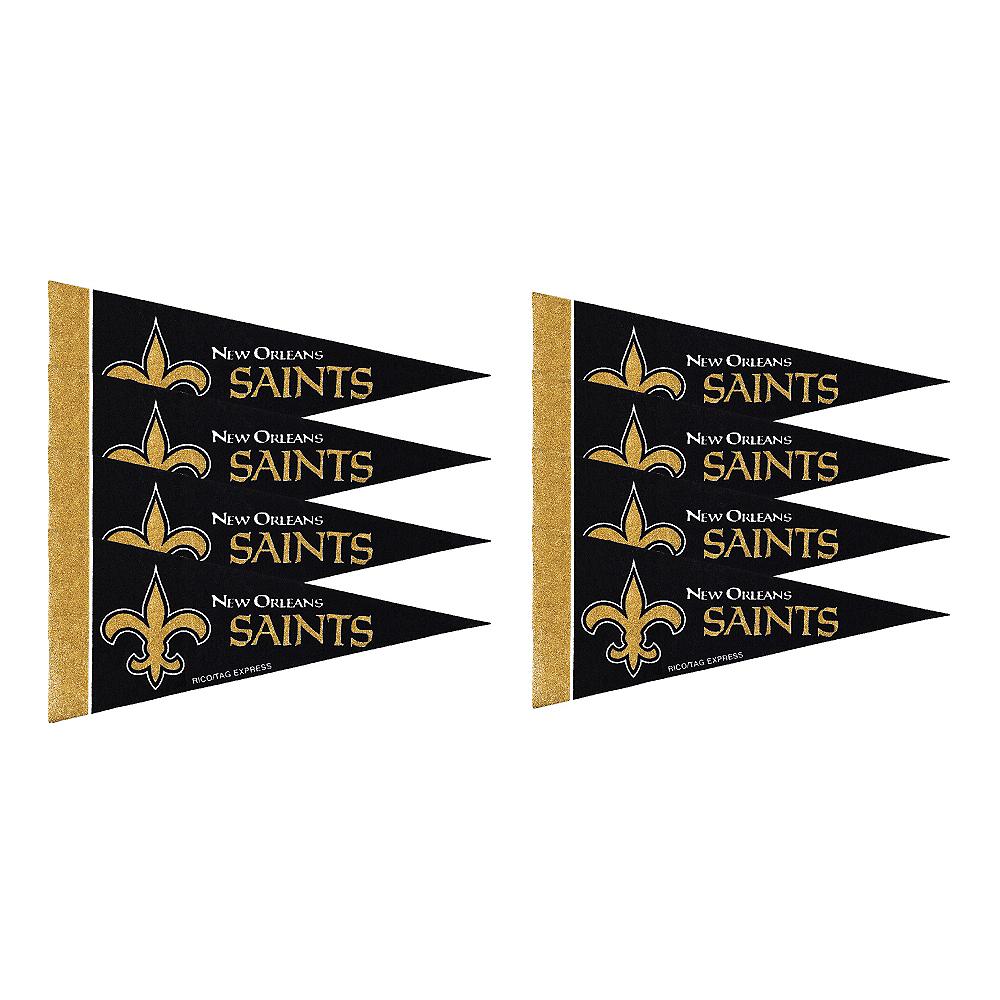 New Orleans Saints Pennants 8ct Image #1