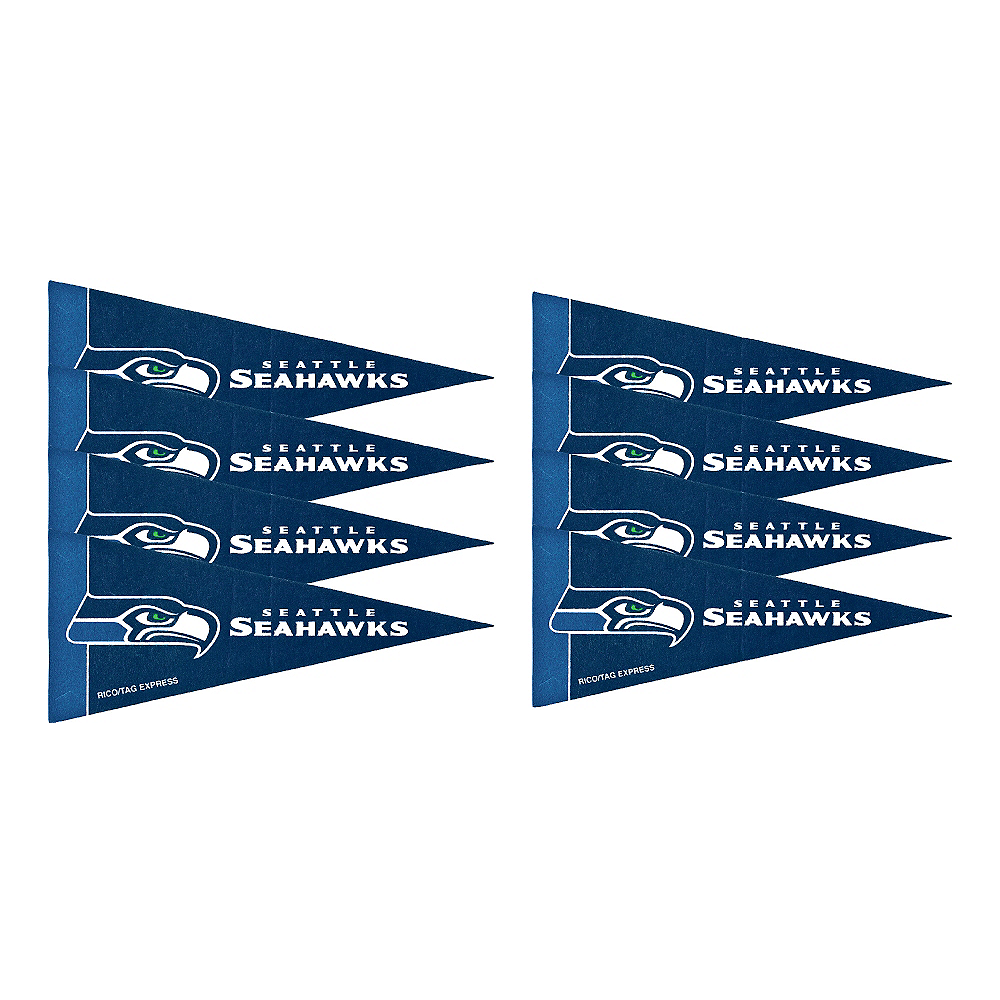 Nav Item for Seattle Seahawks Pennants 8ct Image #1