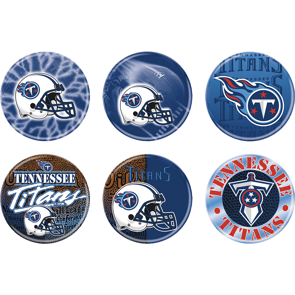 Tennessee Titans Buttons 6ct Image #1