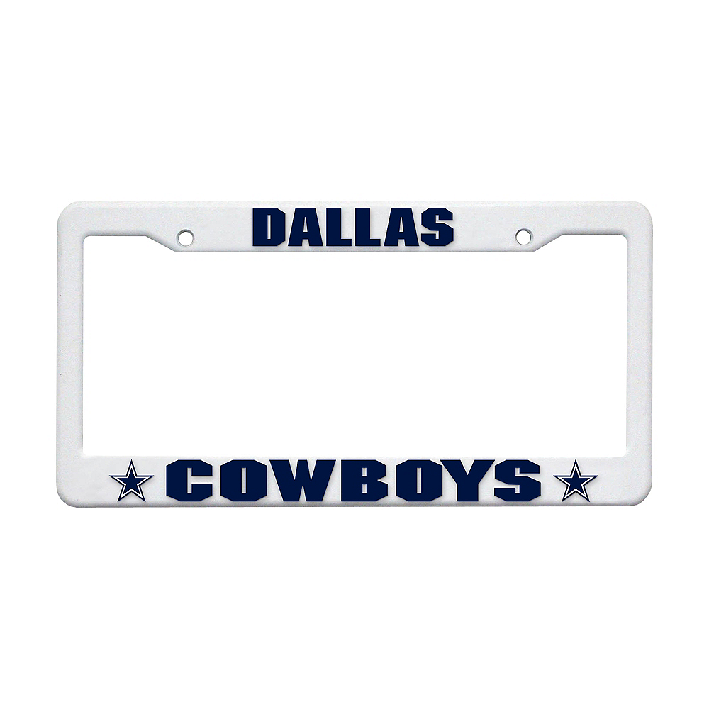 Nav Item for Dallas Cowboys License Plate Frame Image #1