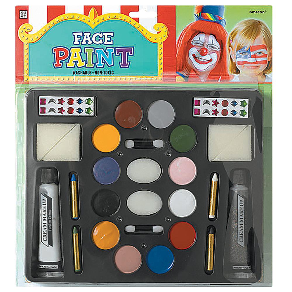 Face Body Paint Kit Party City