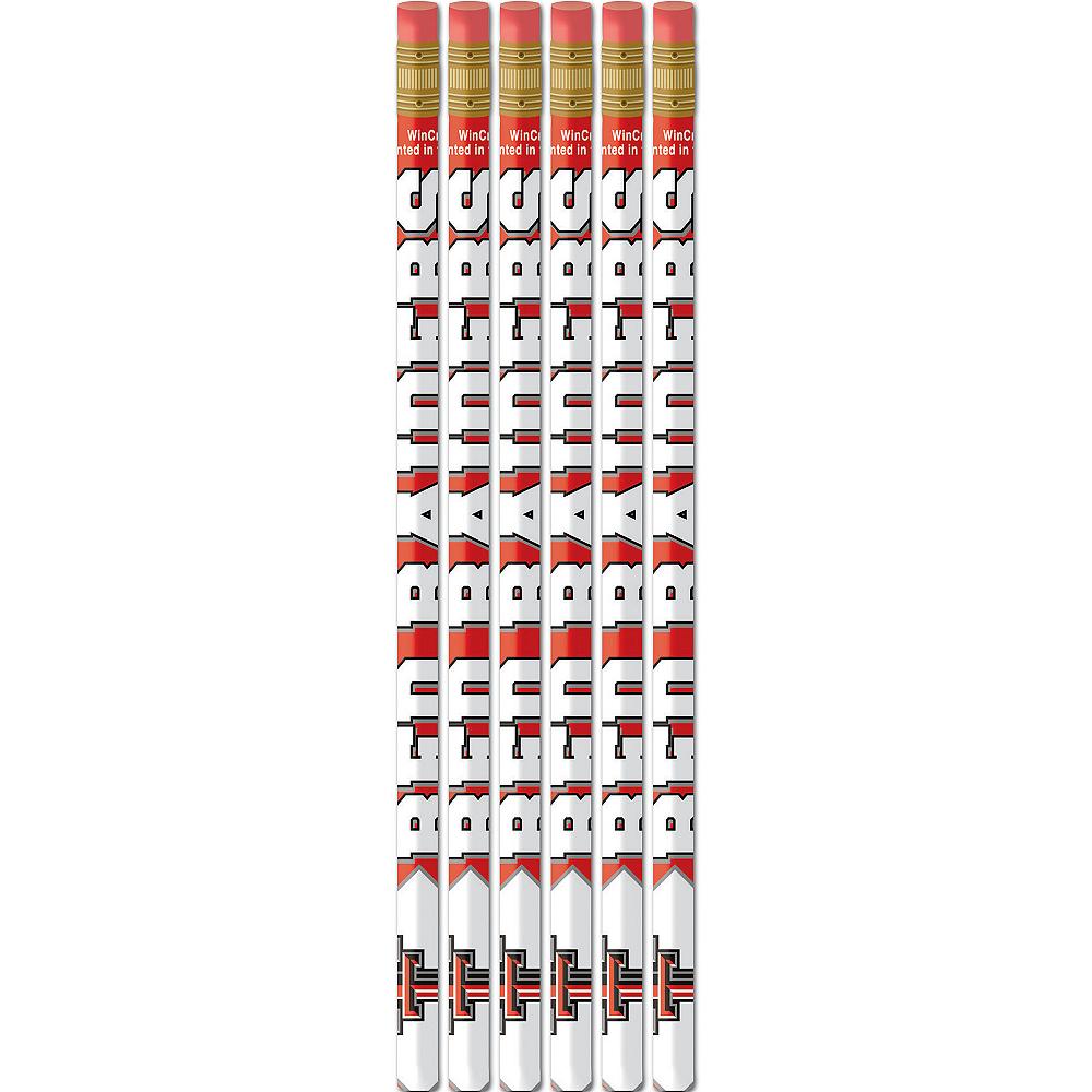 Texas Tech Red Raiders Pencils 6ct Image #1