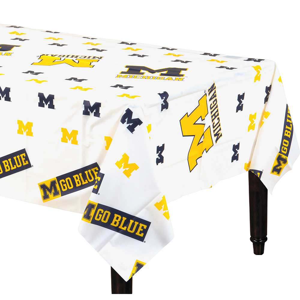 Michigan Wolverines Table Cover Image #1