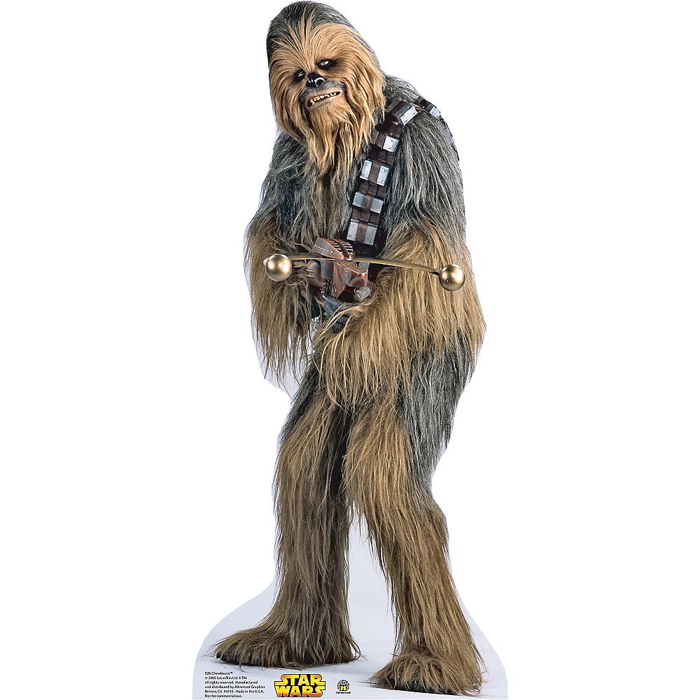 Chewbacca Star Wars Mask Cardboard party