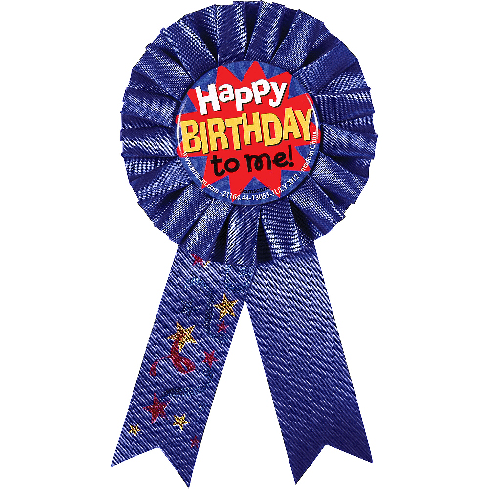 Happy Birthday to Me Award Ribbon Image #1