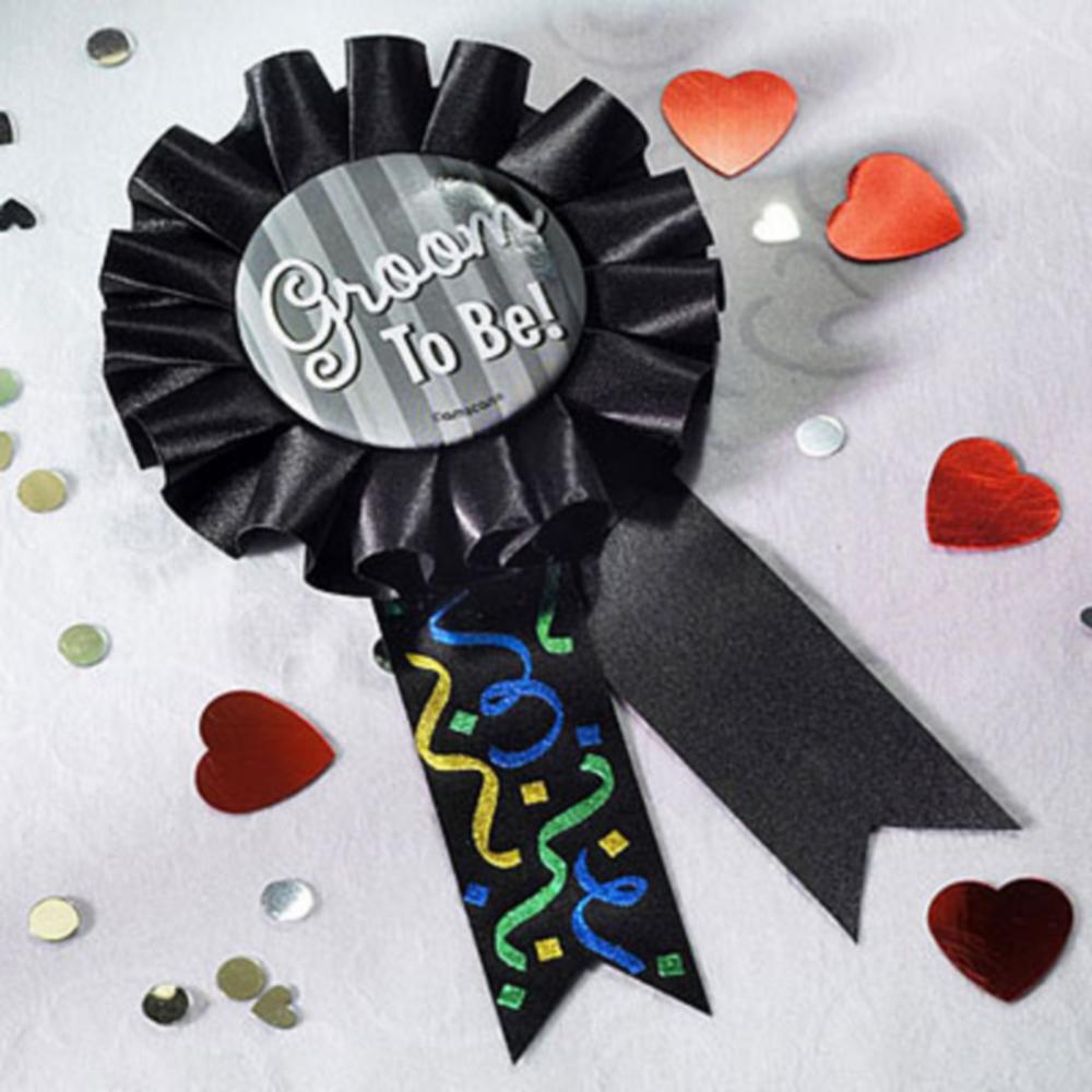 Groom-to-Be Award Ribbon Image #1