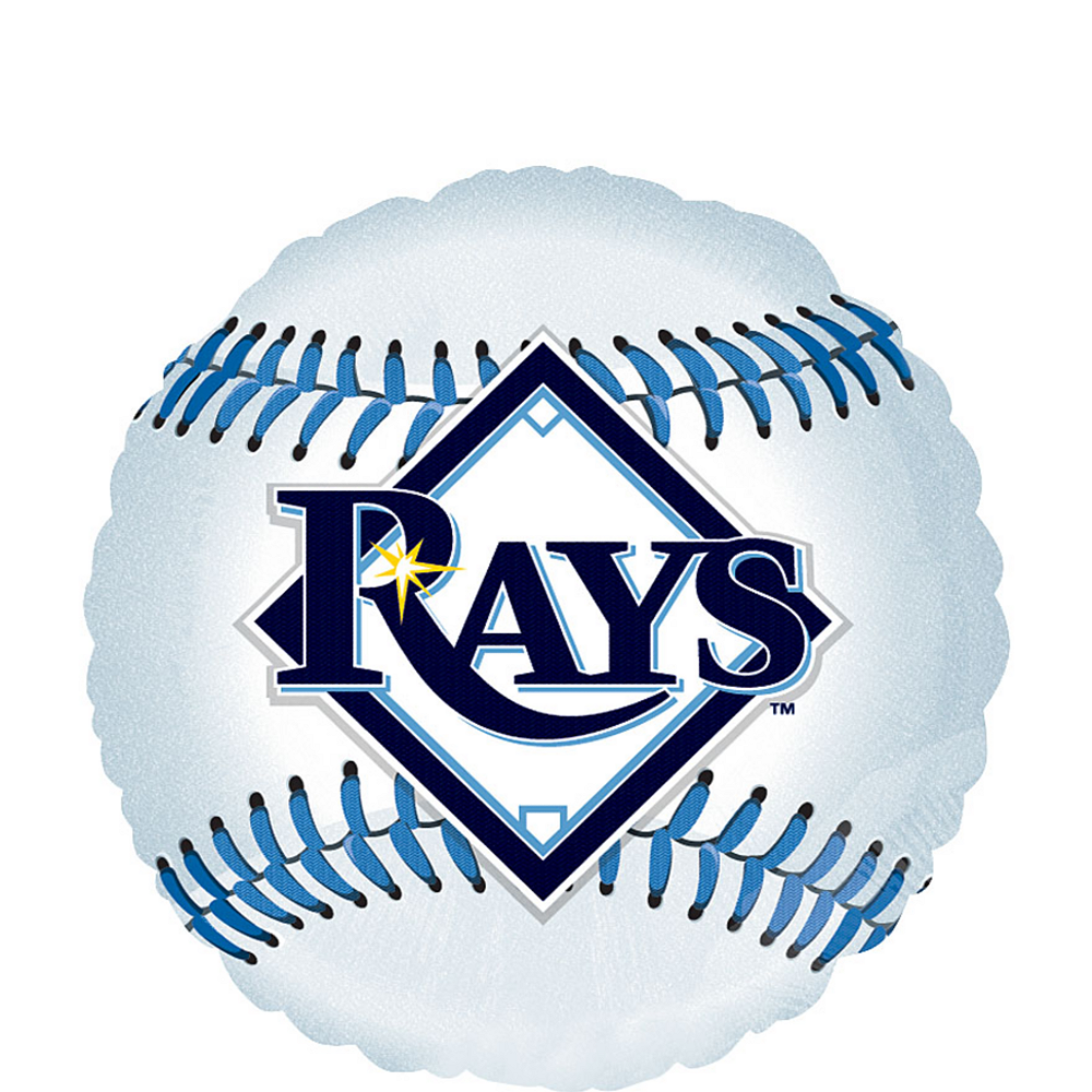 Nav Item for Tampa Bay Rays Balloon - Baseball Image #1