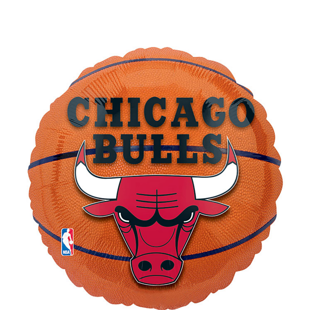 Chicago Bulls Balloon - Basketball Image #1