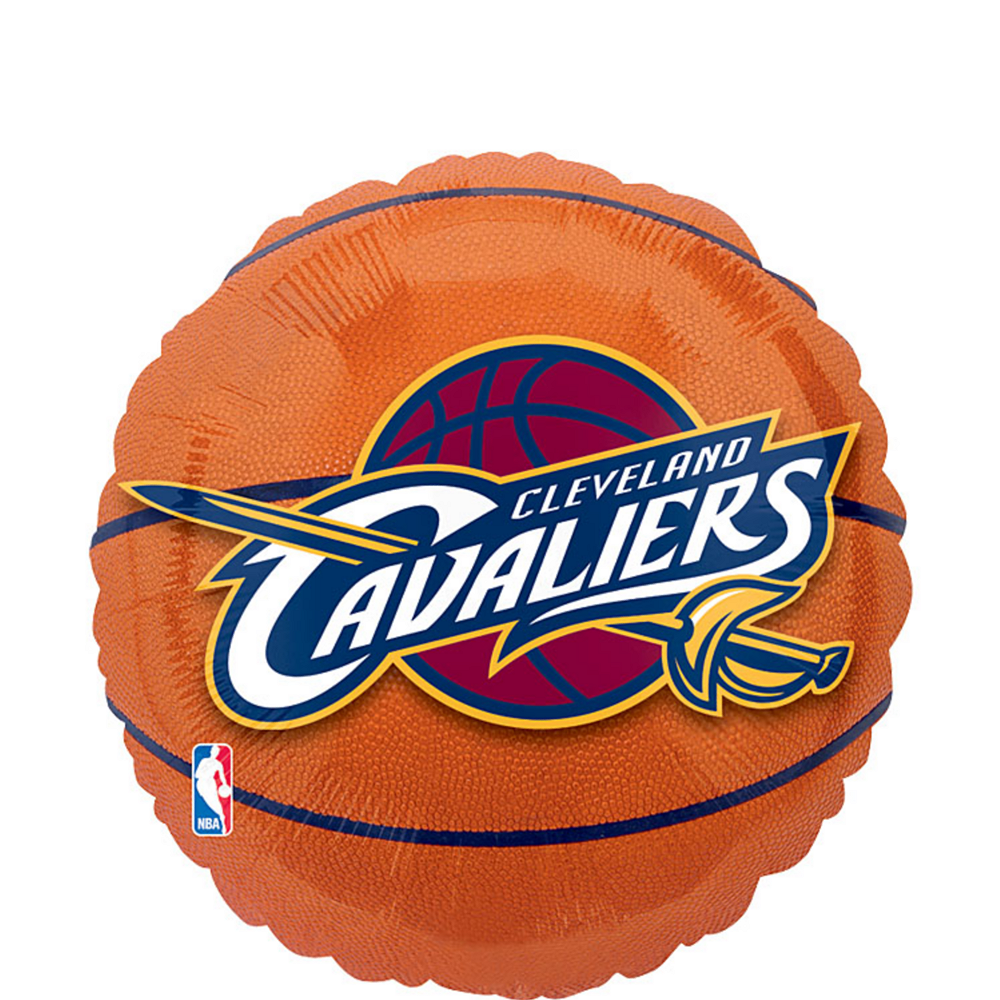 Nav Item for Cleveland Cavaliers Balloon - Basketball Image #1