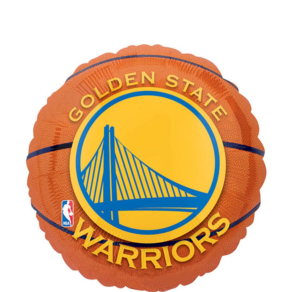 Golden State Warriors Balloon - Basketball Image #1