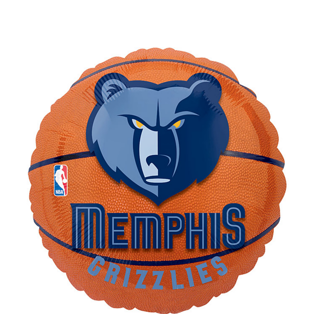 Memphis Grizzlies Balloon - Basketball Image #1