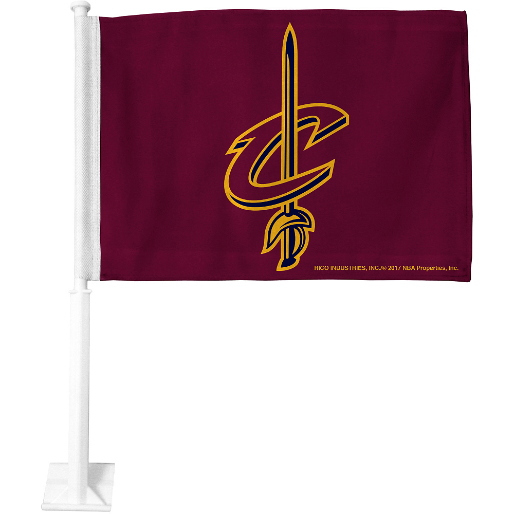 Nav Item for Cleveland Cavaliers Car Flag Image #1