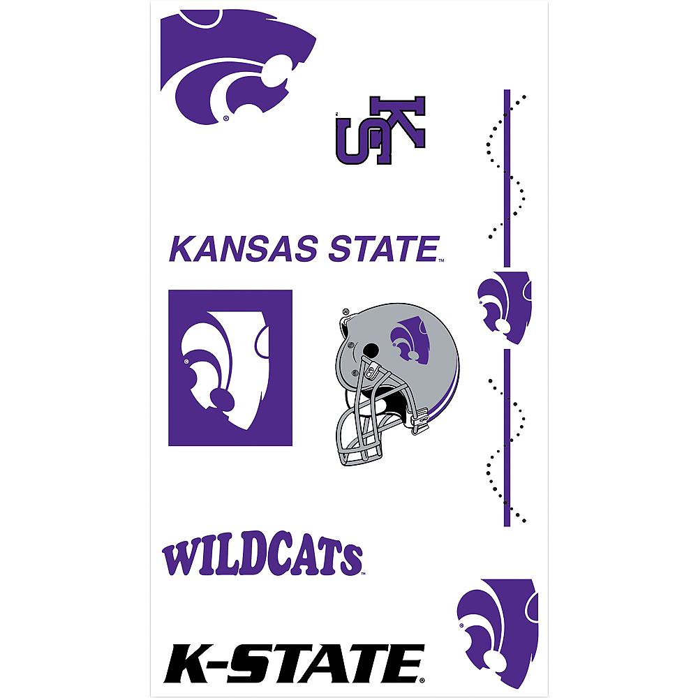 Kansas State Wildcats Tattoos 7ct Image #1