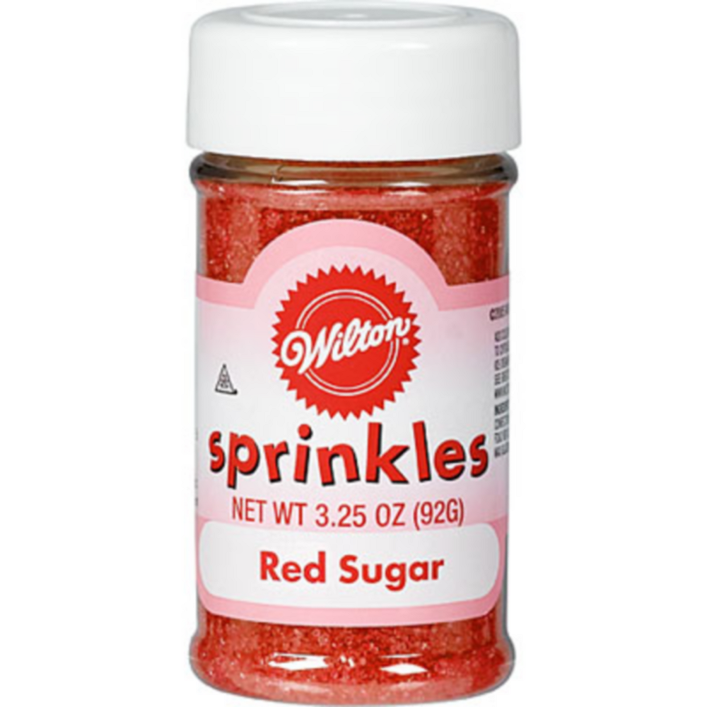 Wilton Red Sugar Sprinkles Image #1