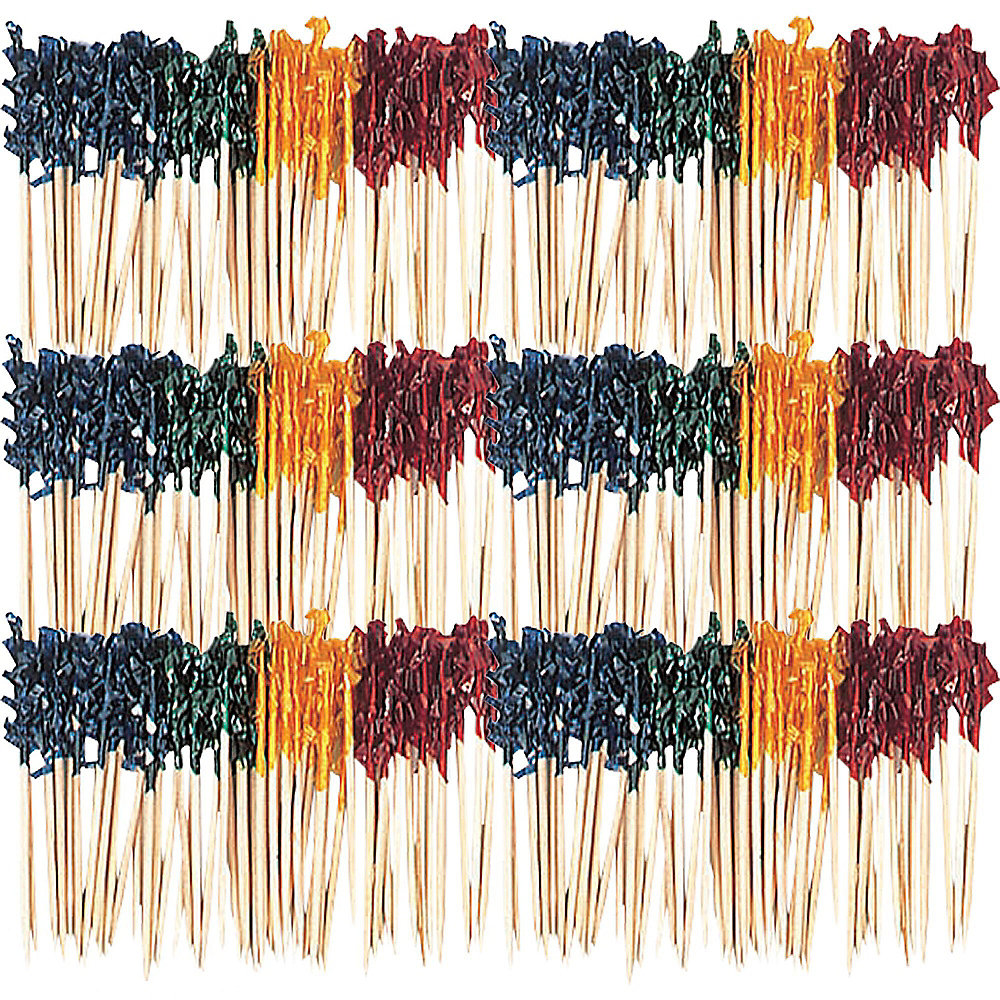 Nav Item for Multicolor Frill Party Picks 800ct Image #1