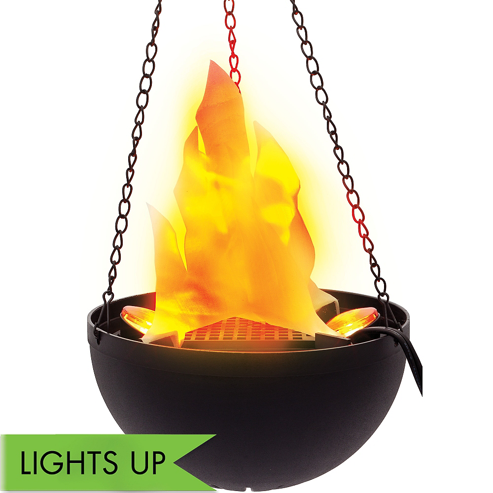Hanging Electric Flame Light Image #1