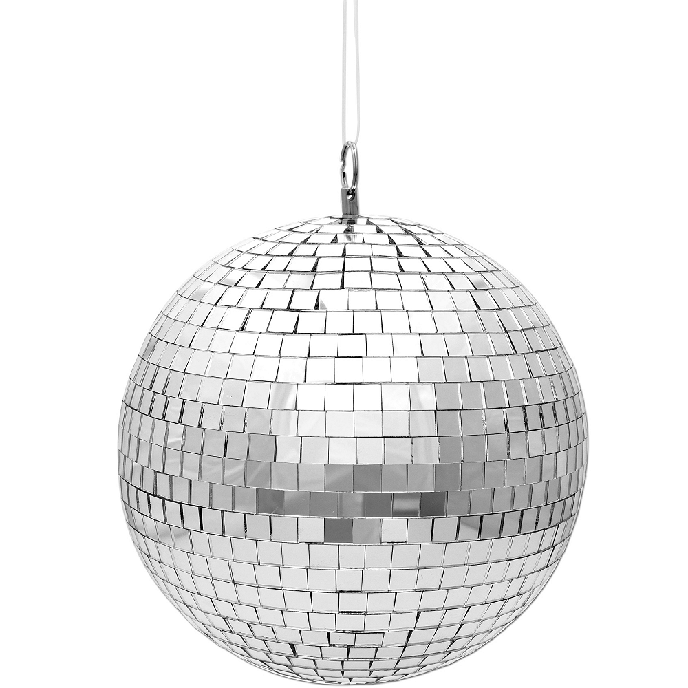 Mini Disco Mirror Ball 3 1 2in X 3 3 8in Party City