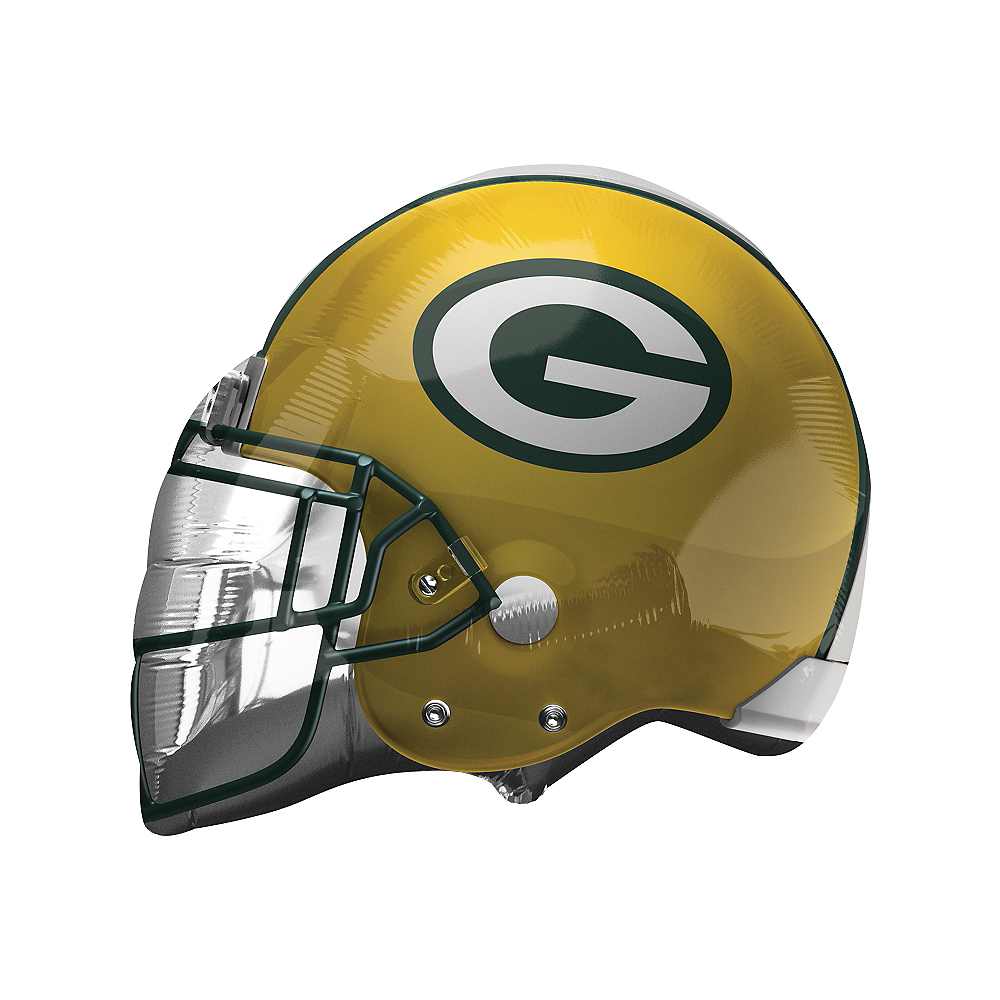 Green Bay Packers Balloon 21in X 17in Helmet Party City