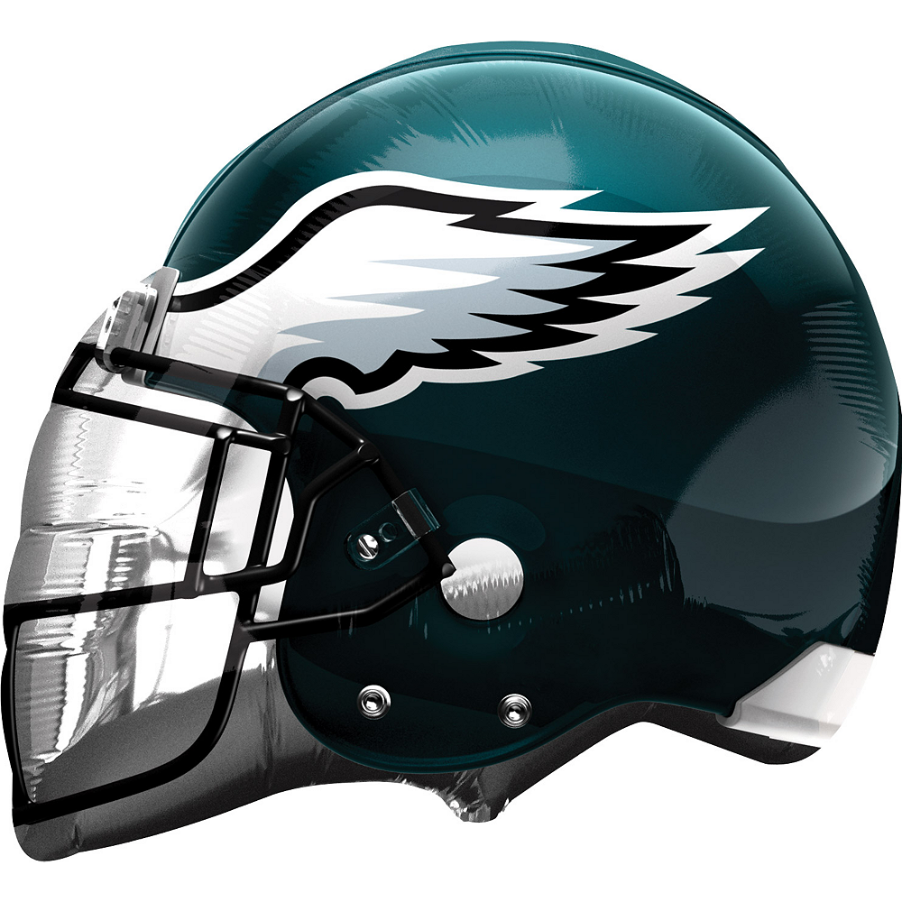 Nav Item for Philadelphia Eagles Balloon - Helmet Image #1