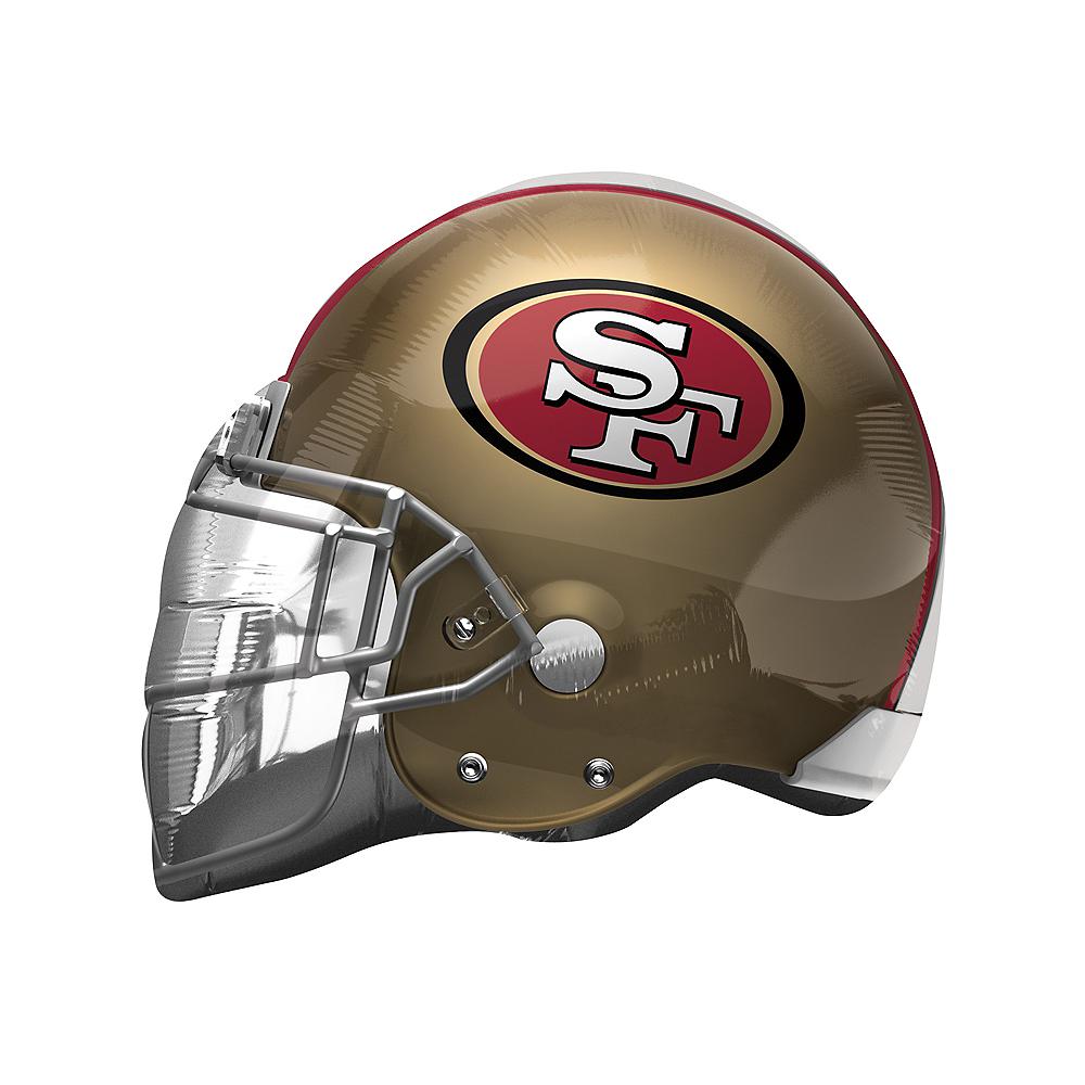 San Francisco 49ers Balloon - Helmet Image #1