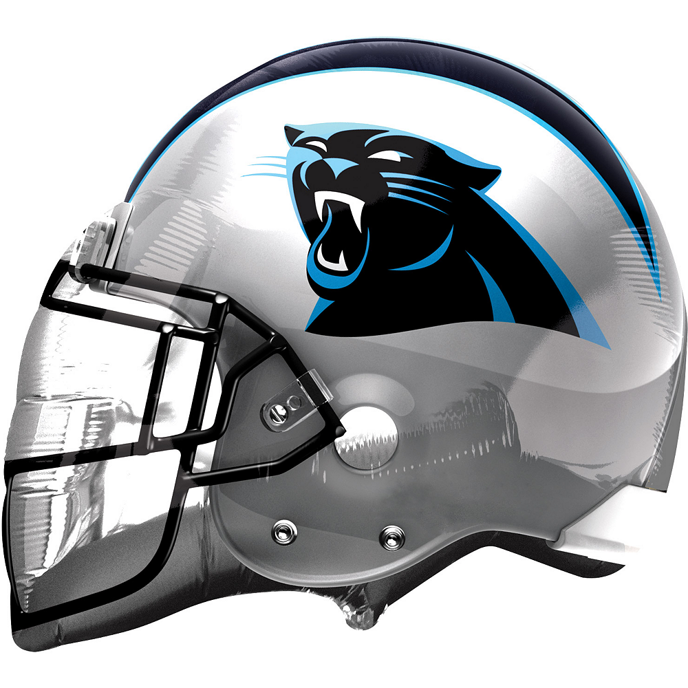 Carolina Panthers Balloon - Helmet Image #1