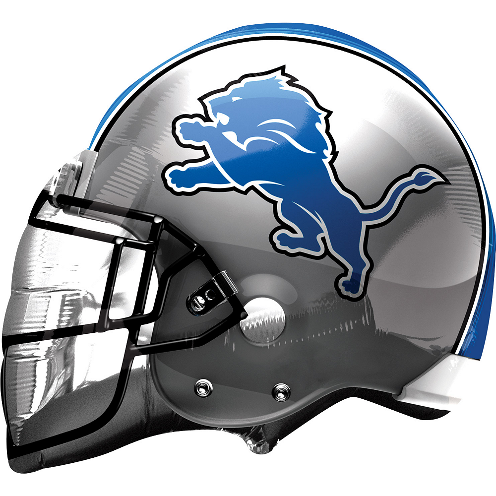 Nav Item for Detroit Lions Balloon - Helmet Image #1