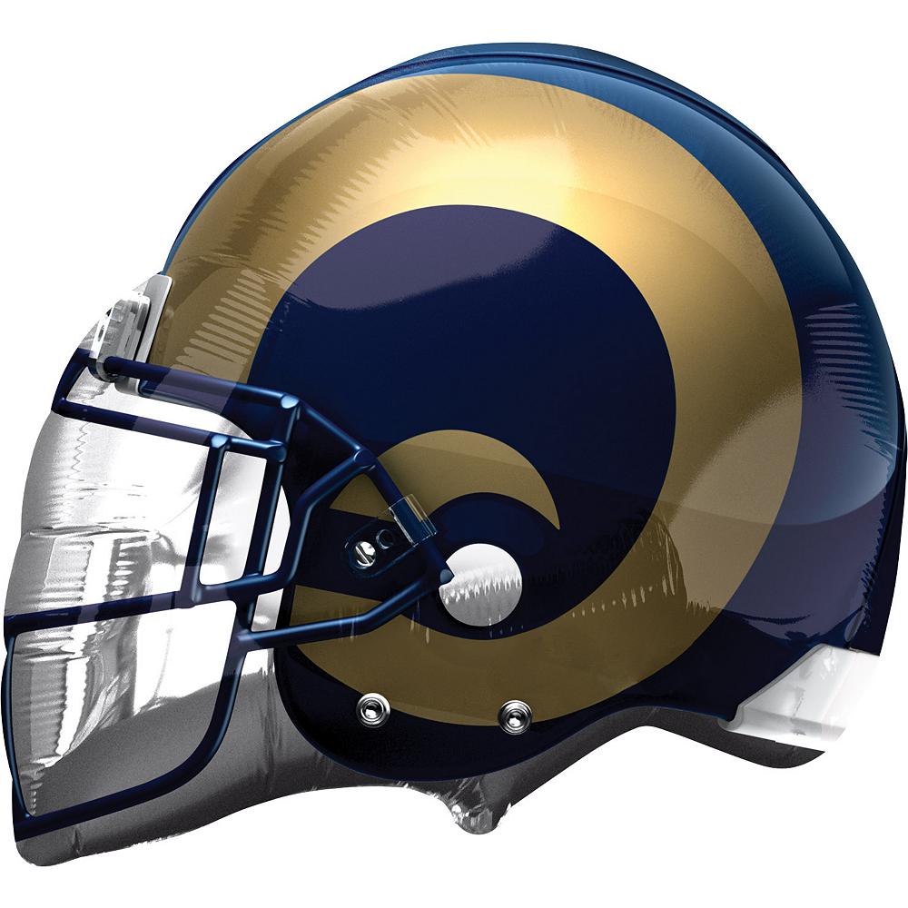 Los Angeles Rams Balloon - Helmet Image #1