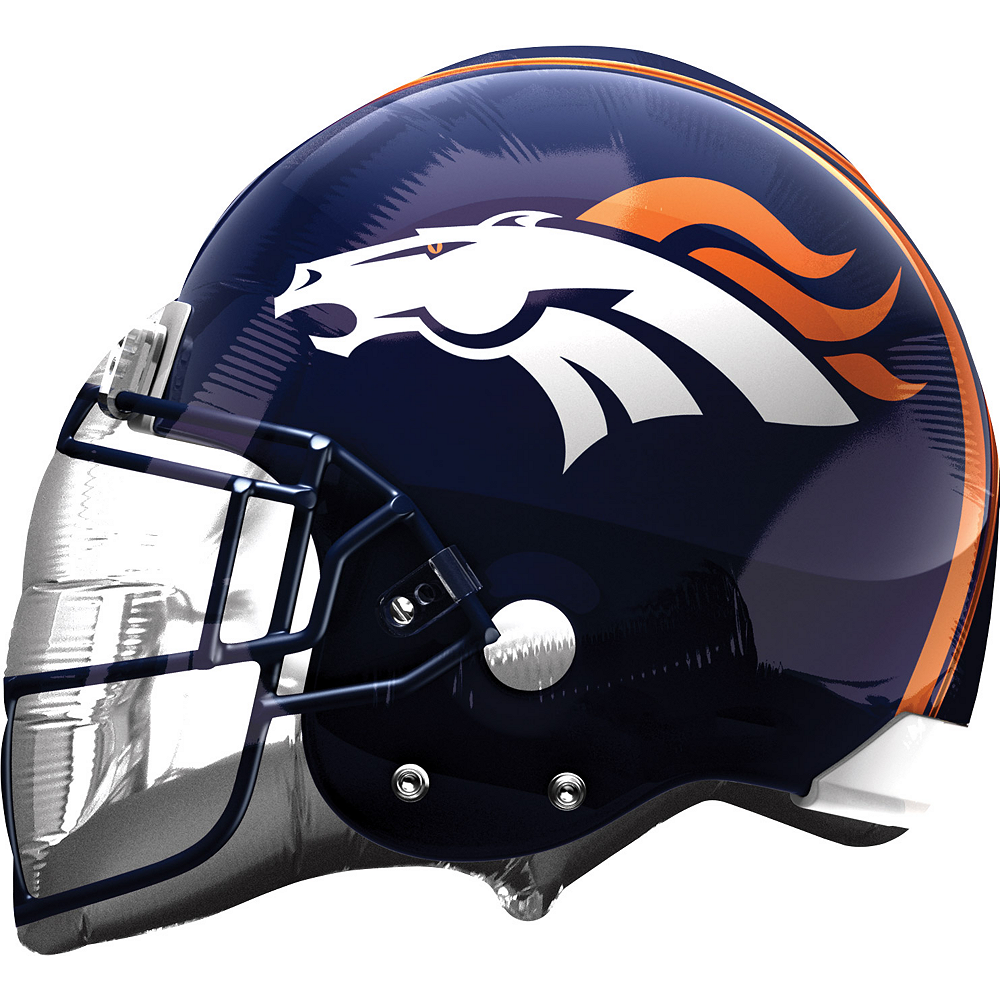 Nav Item for Denver Broncos Balloon - Helmet Image #1