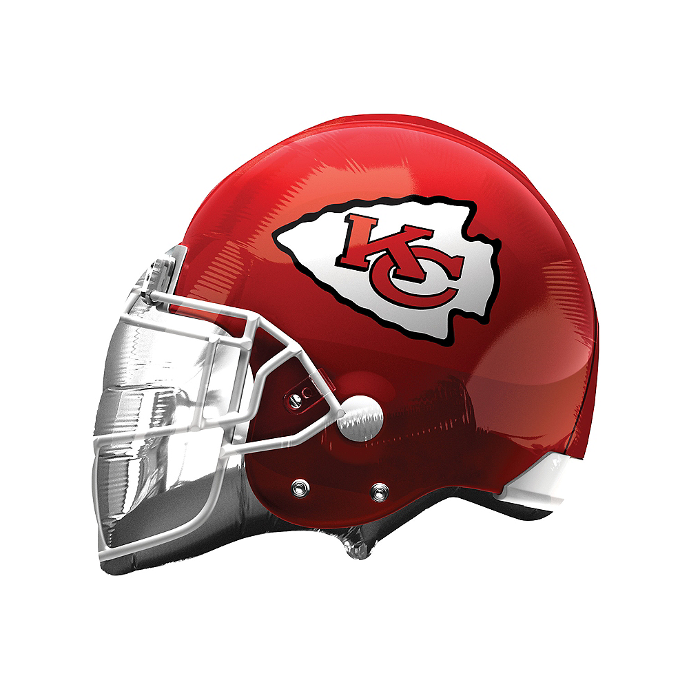 Nav Item for Kansas City Chiefs Balloon - Helmet Image #1