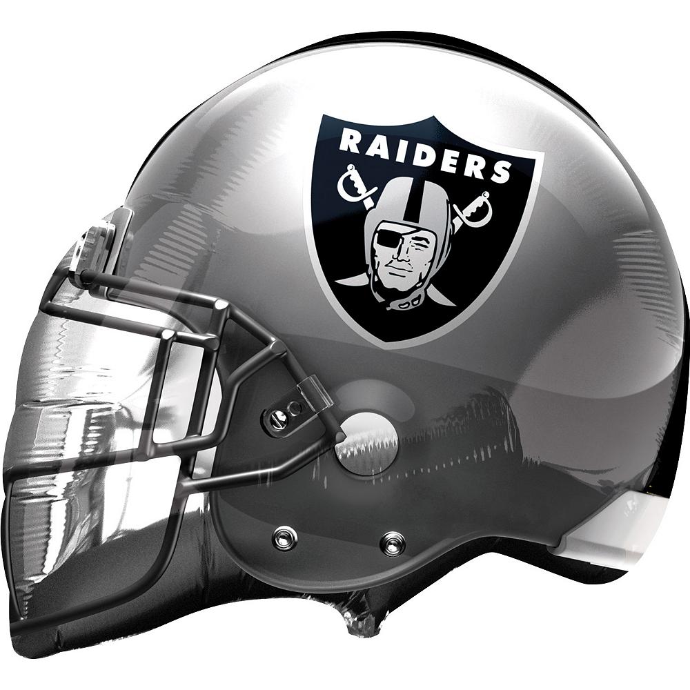 Oakland Raiders Balloon - Helmet Image #1