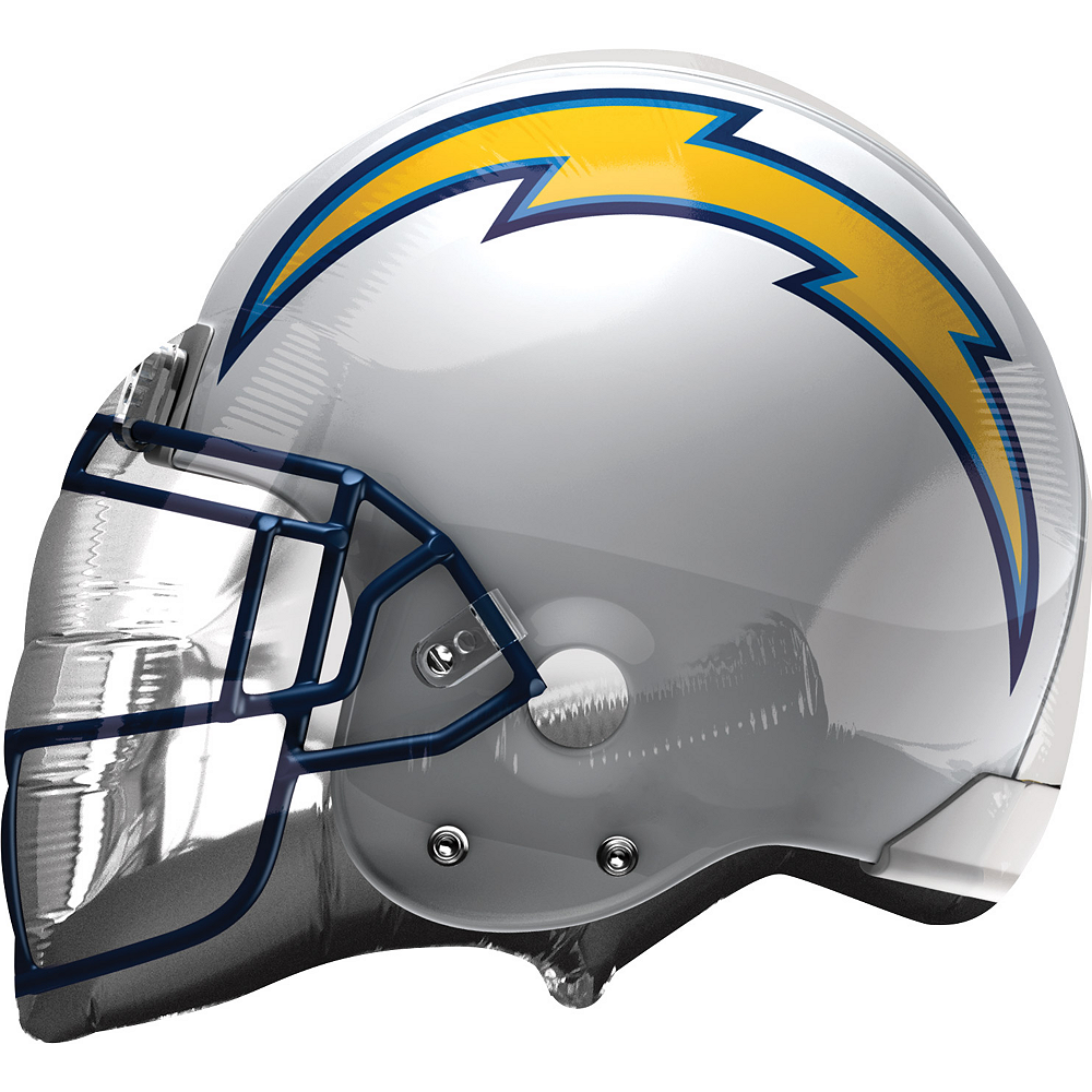 Los Angeles Chargers Balloon - Helmet Image #1