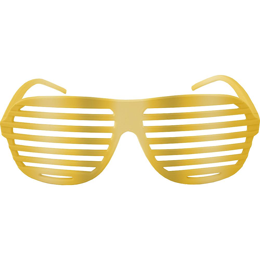Gold Shutter Glasses Image #1