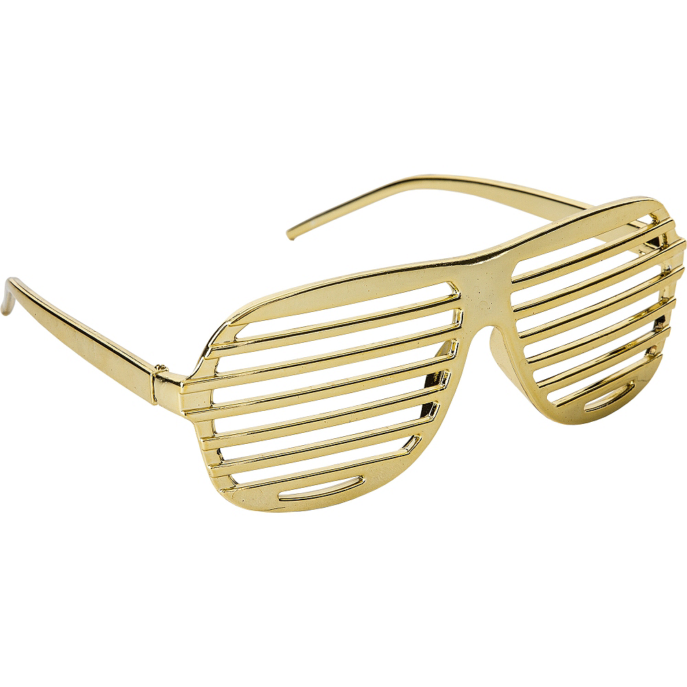 Gold Shutter Glasses Image #2